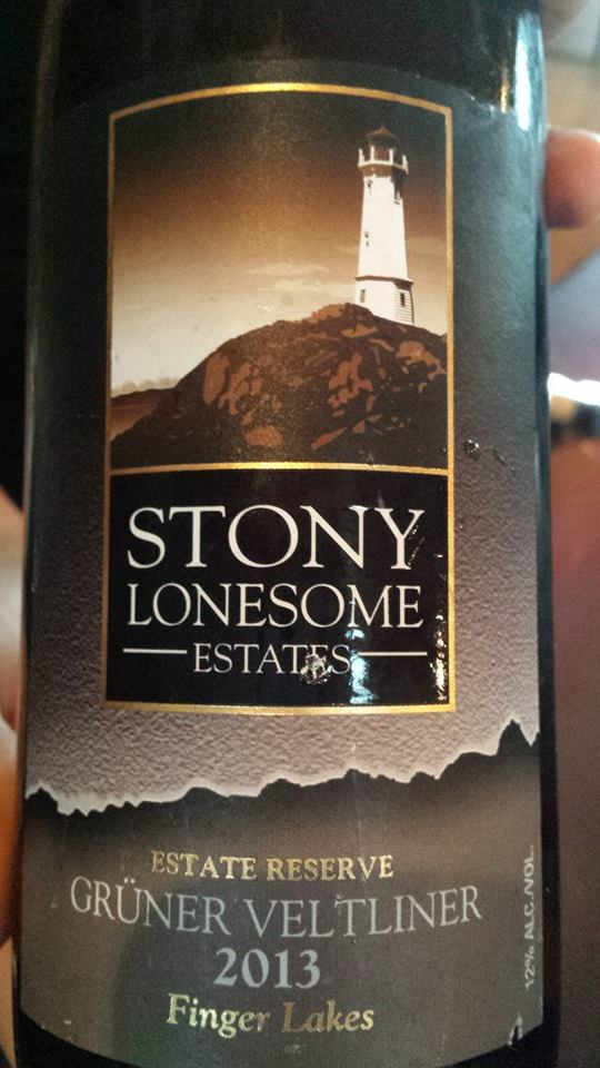 Stony Lonesome Estates – Grüner Veltliner 2013 Estate Reserve – Finger Lakes