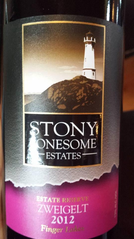 Stony Lonesome Estates – Zweigelt 2012 Estate Reserve – Finger Lakes