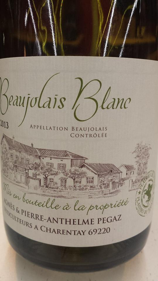 Agnès & Pierre-Anthelme Pegaz 2013 – Beaujolais Blanc