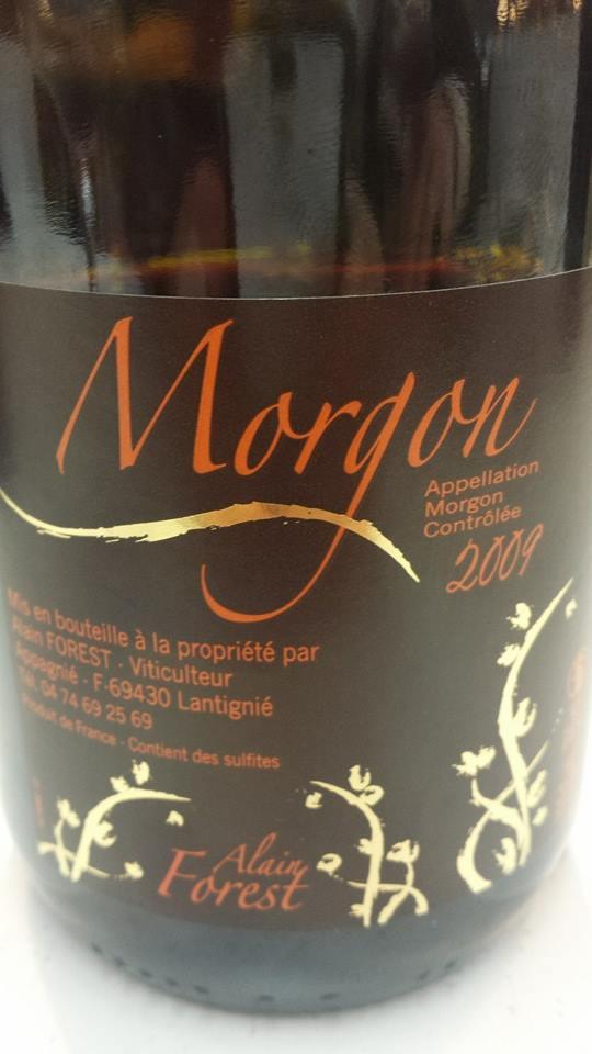 Alain Forest 2009 – Morgon