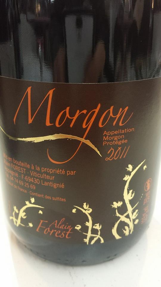 Alain Forest 2011 – Morgon