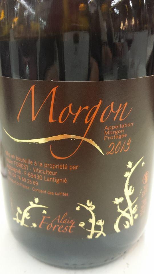 Alain Forest 2013 – Morgon