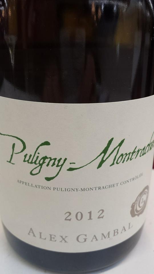 Alex Gambal 2012 – Puligny-Montrachet
