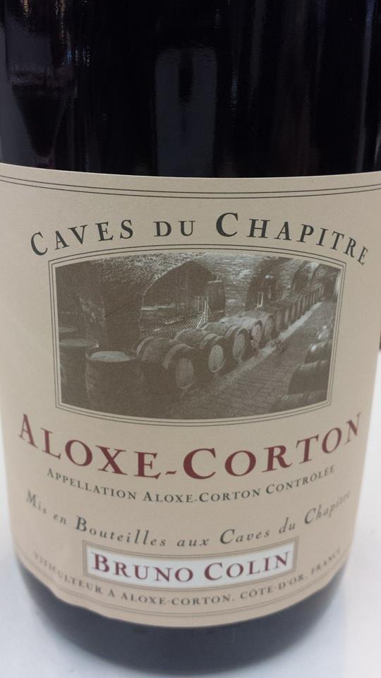 Caves du Chapitre 2012 – Bruno Colin – Aloxe-Corton