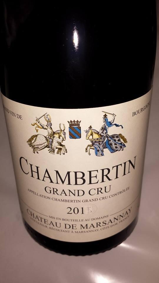 Château de Marsannay 2013 – Chambertin – Grand Cru