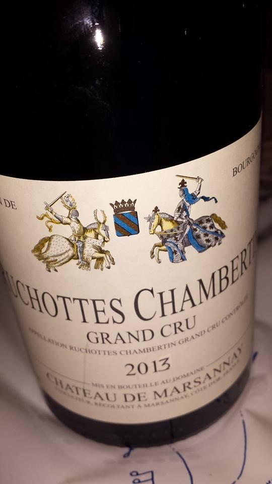 Château de Marsannay 2013 – Ruchottes-Chambertin – Grand Cru