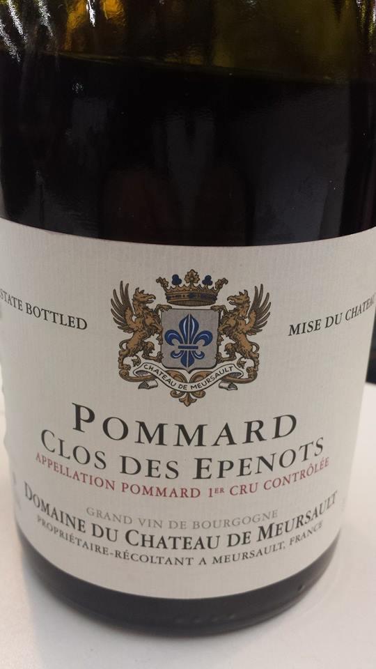 Château de Meursault – Clos des Epenots 2012 – Pommard 1er Cru