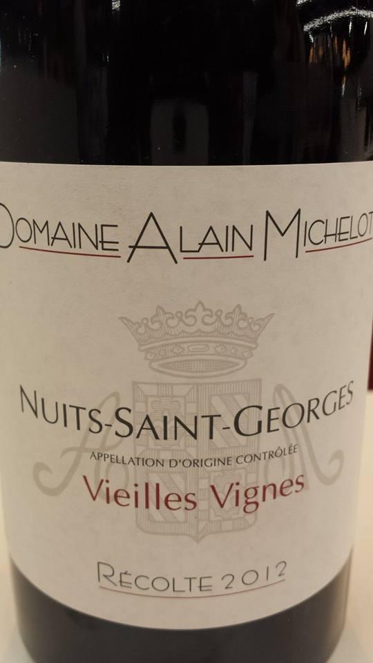 Domaine Alain Michelot – Vieilles Vignes 2012 – Nuits-Saint-Georges