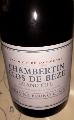 Domaine Bruno Clair 2013 – Chambertin – Clos de Bèze – Grand Cru