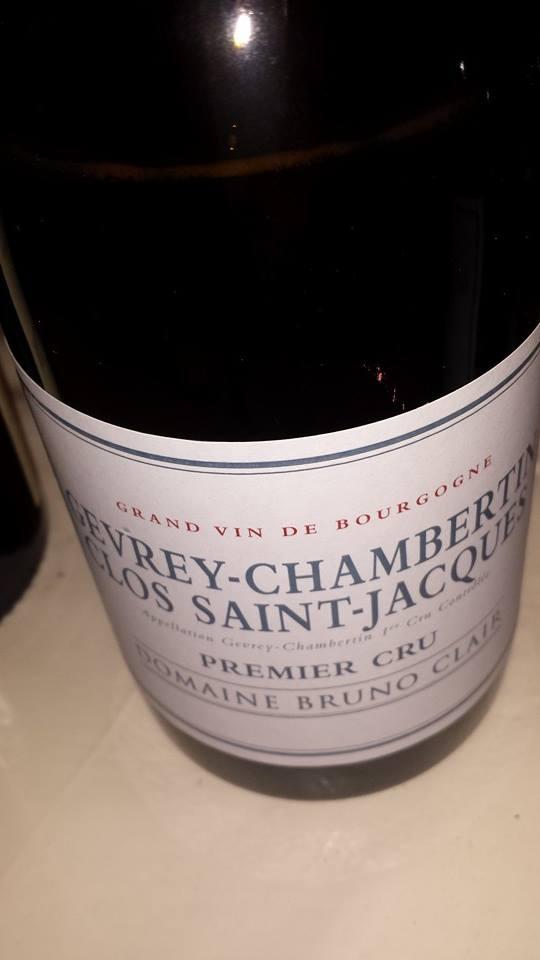 Domaine Bruno Clair 2013 – Gevrey-Chambertin – Clos Saint-Jacques – 1er Cru