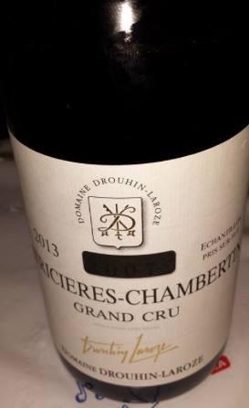 Domaine Drouhin-Laroze 2013 – Latricières-Chambertin – Grand Cru