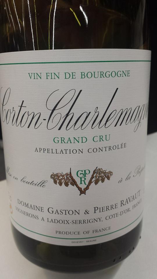 Domaine Gaston & Pierre Ravaut 2013 – Corton-Charlemagne Grand Cru