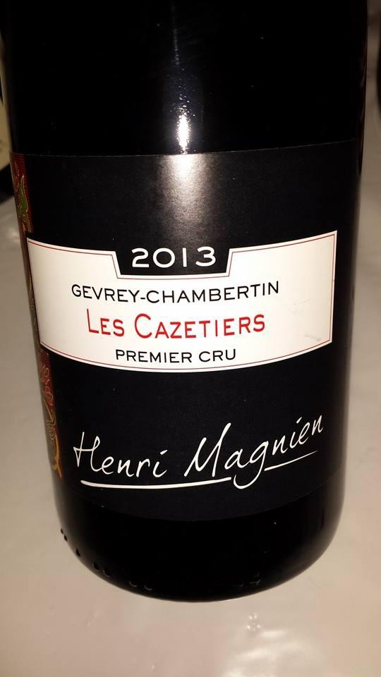 Domaine Henri Magnien 2013 – Gevrey-Chambertin – Les Cazetier 1er Cru
