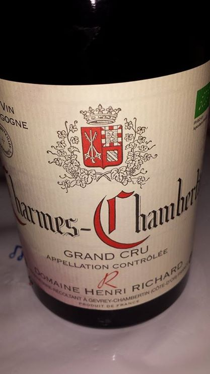 Domaine Henri Richard 2013 – Mazoyères-Chambertin – Grand Cru