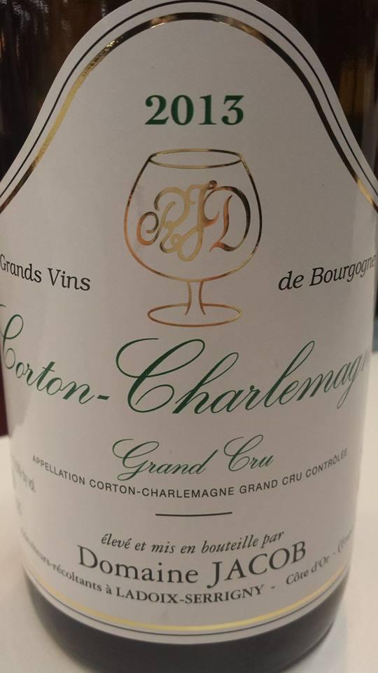 Domaine Jacob 2013 – Corton-Charlemagne Grand Cru
