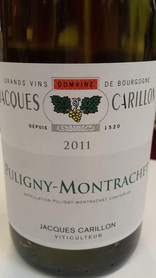 Domaine Jacques Carillon 2011 – Puligny-Montrachet
