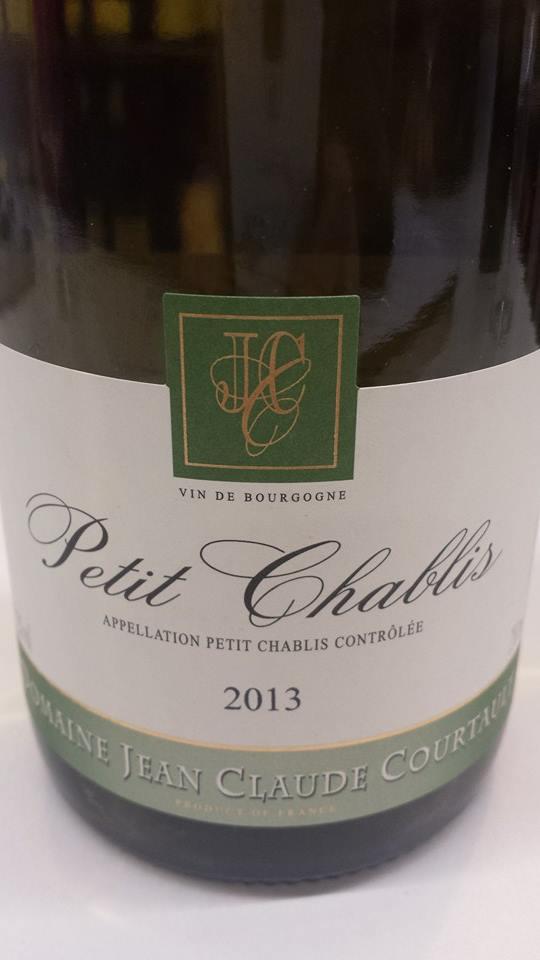 Domaine Jean Claude Courtault 2013 – Petit Chablis