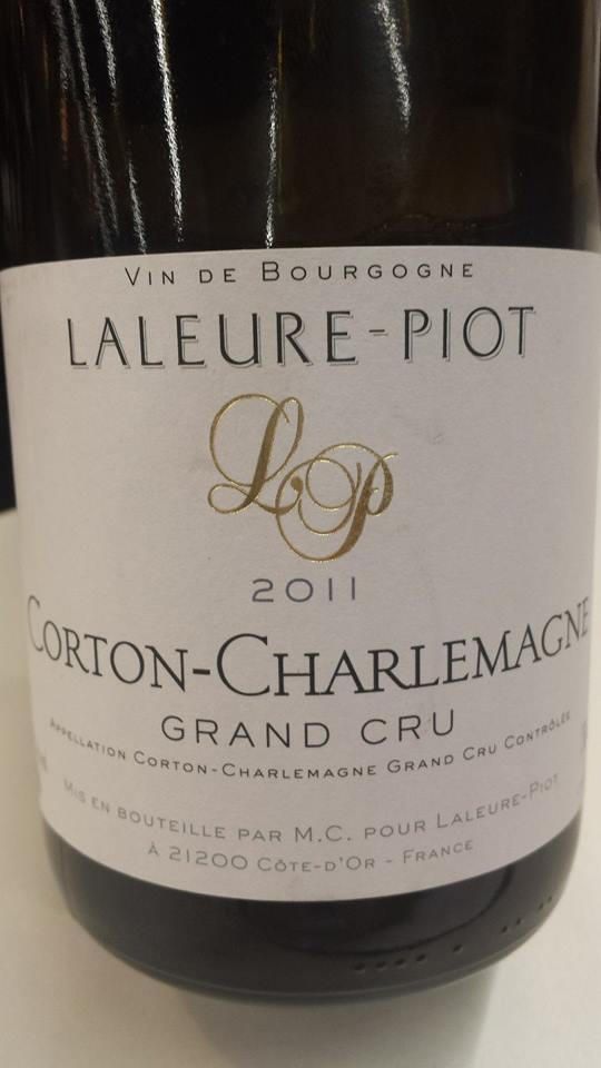 Domaine Laleure-Piot 2011 – Corton-Charlemagne – Grand Cru