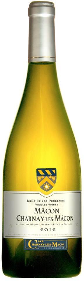 Domaine Les Perserons – Vieilles Vignes – Mâcon Charnay-Lès-Mâcon 2012