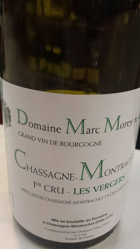 Domaine Marc Morey – Les Vergers 2011 – Chassagne-Montrachet 1er Cru