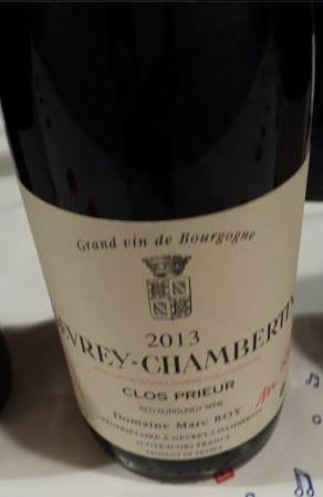 Domaine Marc Roy – Clos Prieur 2013 – Gevrey-Chambertin