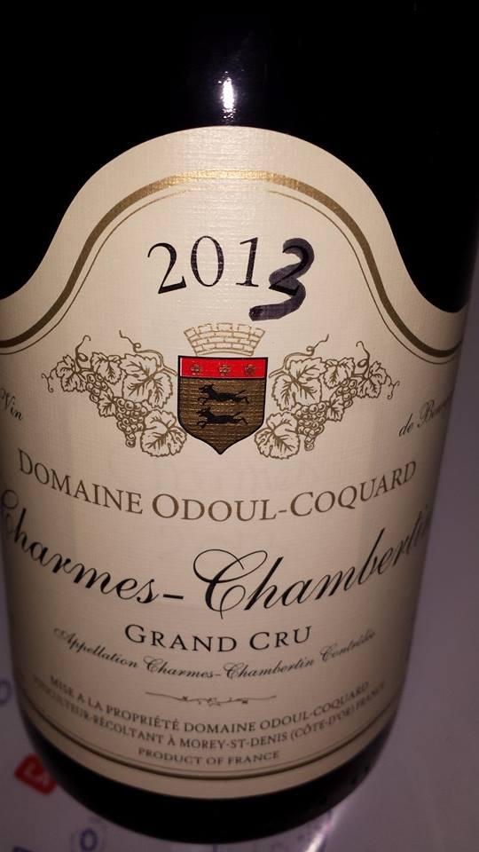 Domaine Odoul-Coquard 2013 – Charmes-Chambertin – Grand Cru