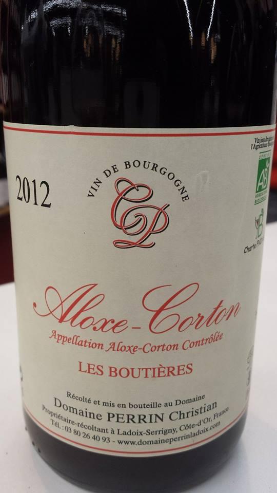 Domaine Perrin Christian – Les Boutières 2012 – Aloxe-Corton