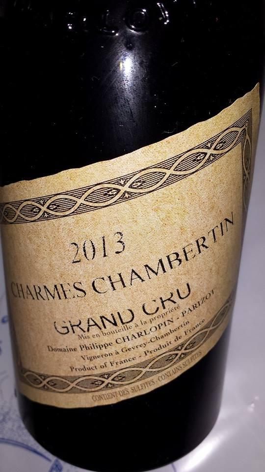 Domaine Philippe Charlopin-Parizot 2013 – Charmes-Chambertin – Grand Cru