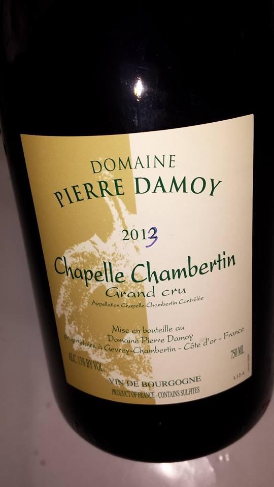 Domaine Pierre Damoy 2013 – Chapelle-Chambertin – Grand Cru