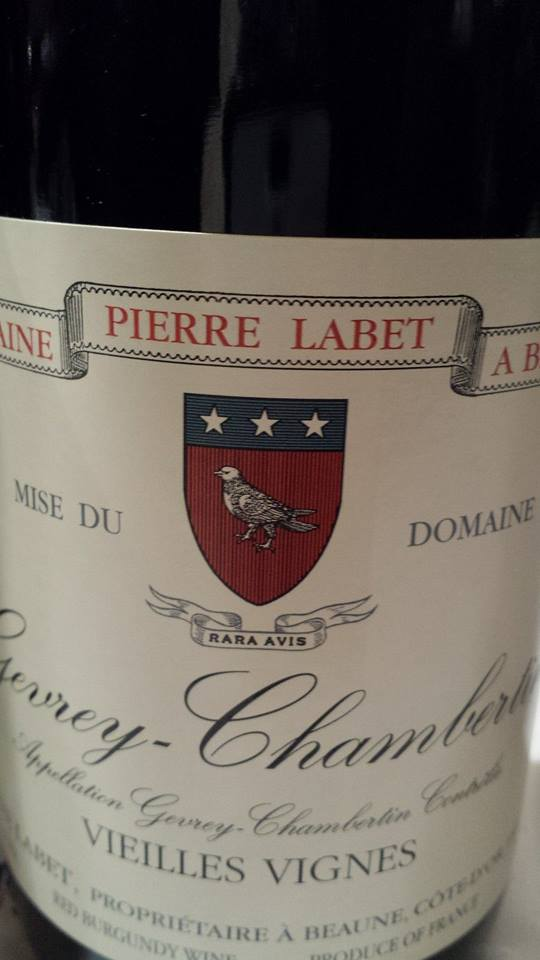 Domaine Pierre Labet – Vieilles Vignes 2013 – Gevrey-Chambertin