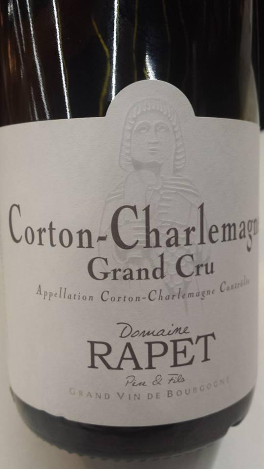 Domaine Rapet 2013 – Corton-Charlemagne Grand Cru