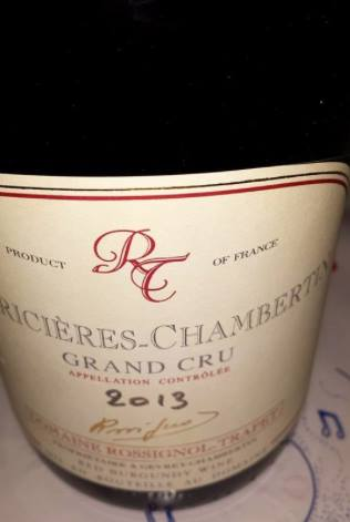 Domaine Rossignol-Trapet 2013 – Latricières-Chambertin – Grand Cru