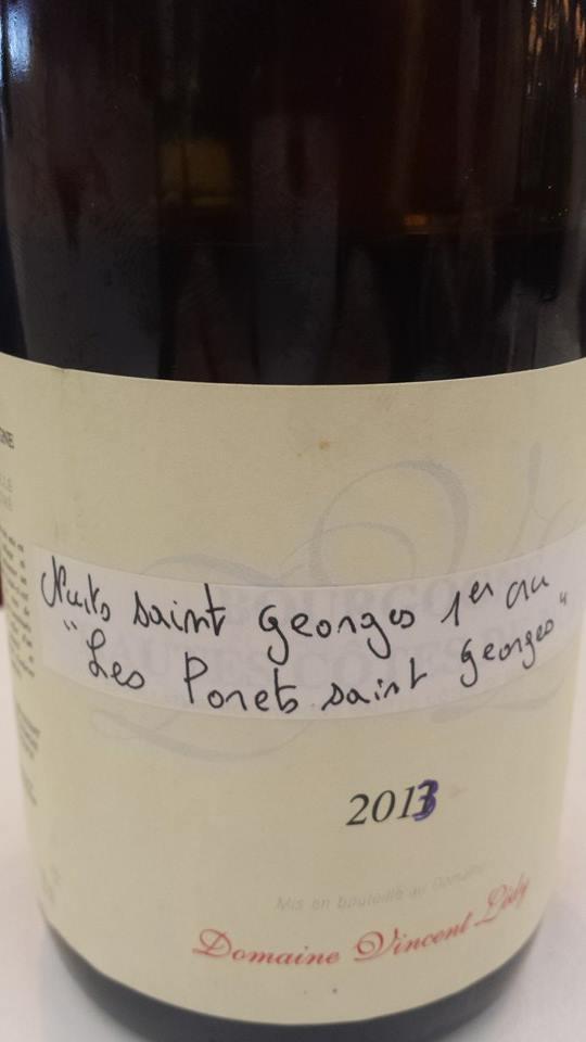 Domaine Vincent Ledy – Les Porets Saint Georges 2013 – Nuits-Saint-Georges 1er Cru