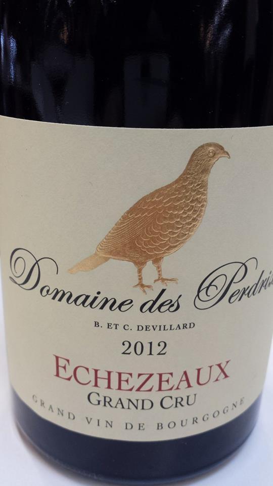 Domaine des Perdrix 2012 – Echezeaux Grand Cru