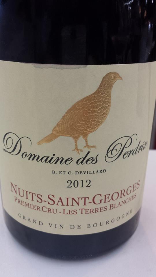 Domaine des Perdrix 2012 – Nuits-Saint-Georges 1er Cru – Les Terres Blanches