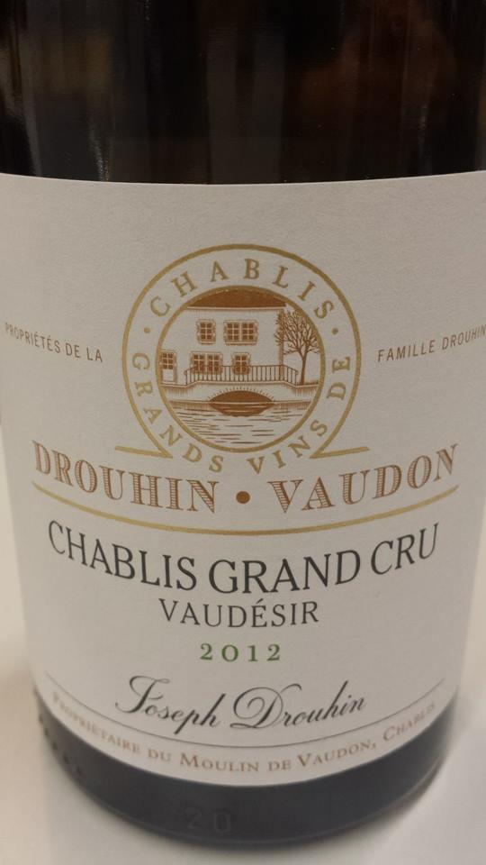 Drouhin Vaudon – Vaudésir 2012 – Chablis Grand Cru