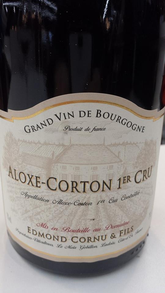 Edmond Cornu & Fils 2012 – Aloxe-Corton 1er Cru