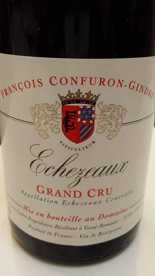 François Confuron-Gindre 2012 – Echezeaux Grand Cru