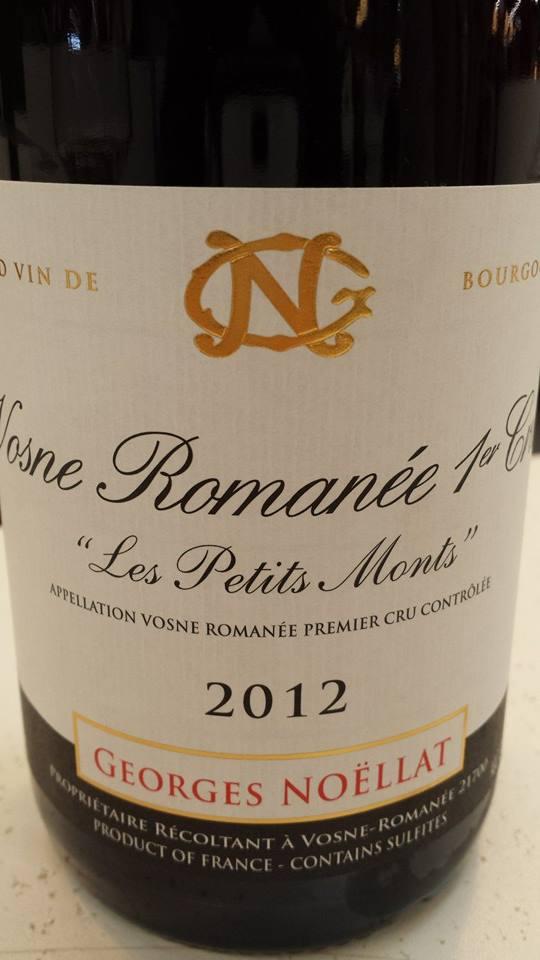 Domaine Georges Noëllat 2012 – Les Petits Monts – Vosne-Romanée 1er Cru