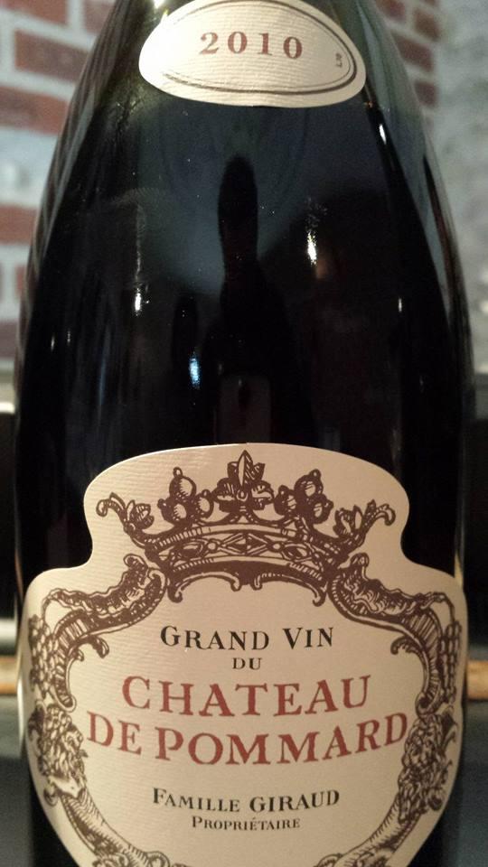 Grand Vin du Château de Pommard 2010 – Pommard
