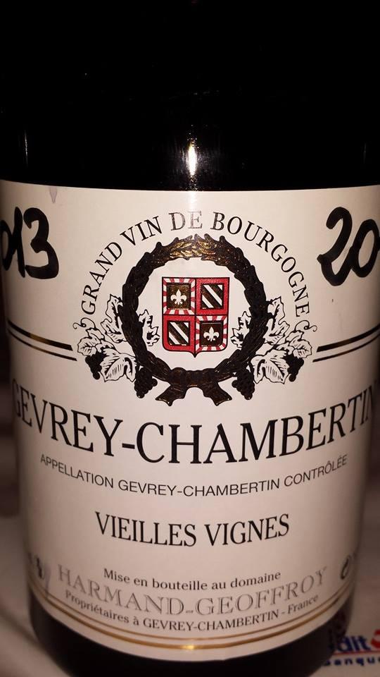 Harmand-Geoffroy – Vieilles Vignes 2013 – Gevrey-Chambertin