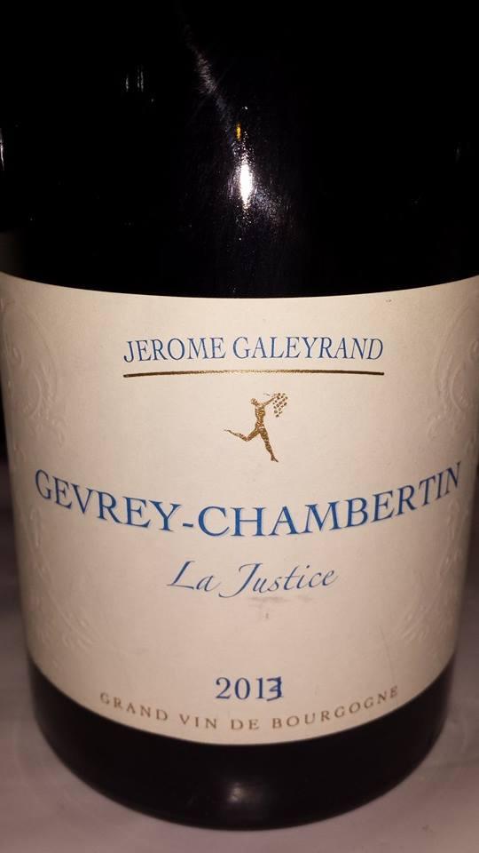 Jérome Galeyrand – La justice 2013 – Gevrey-Chambertin