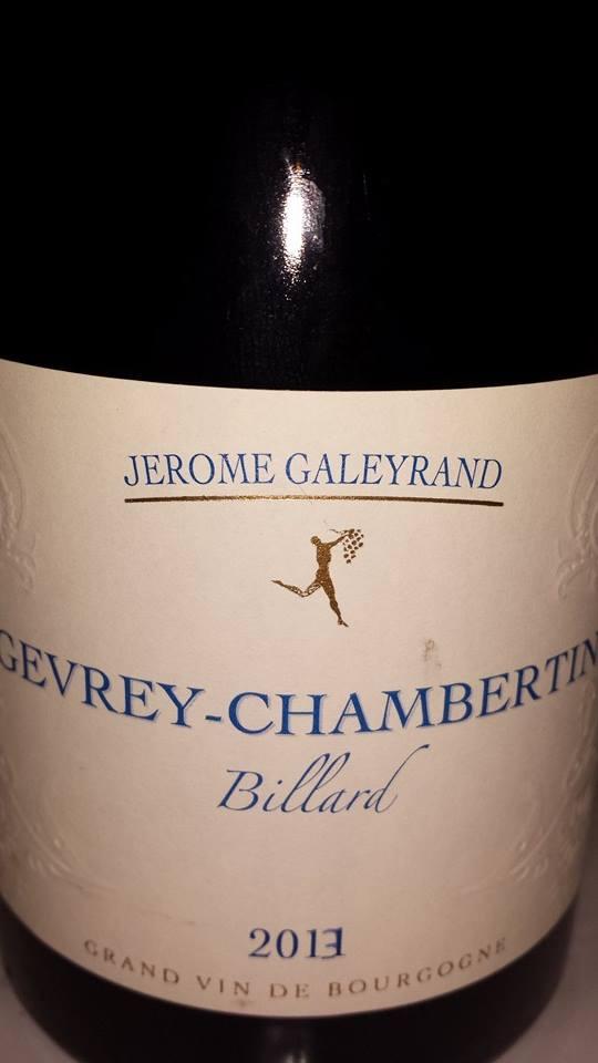 Jérome Galeyrand – Billard 2013 – Gevrey-Chambertin