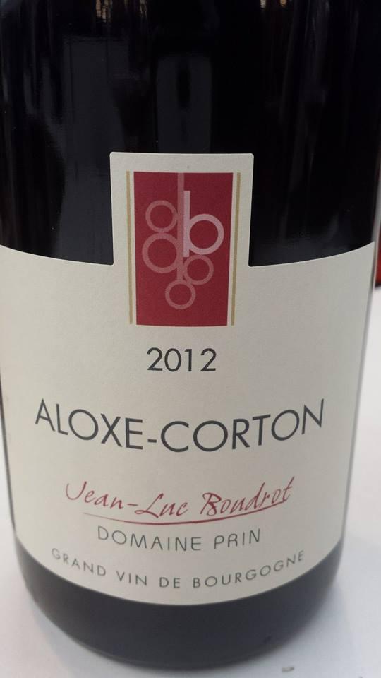 Jean-Luc Bondrot – Domaine Prin 2012 – Aloxe-Corton