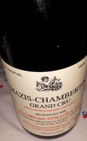 Jean-Michel Guillon 2013 – Mazis-Chambertin – Grand Cru