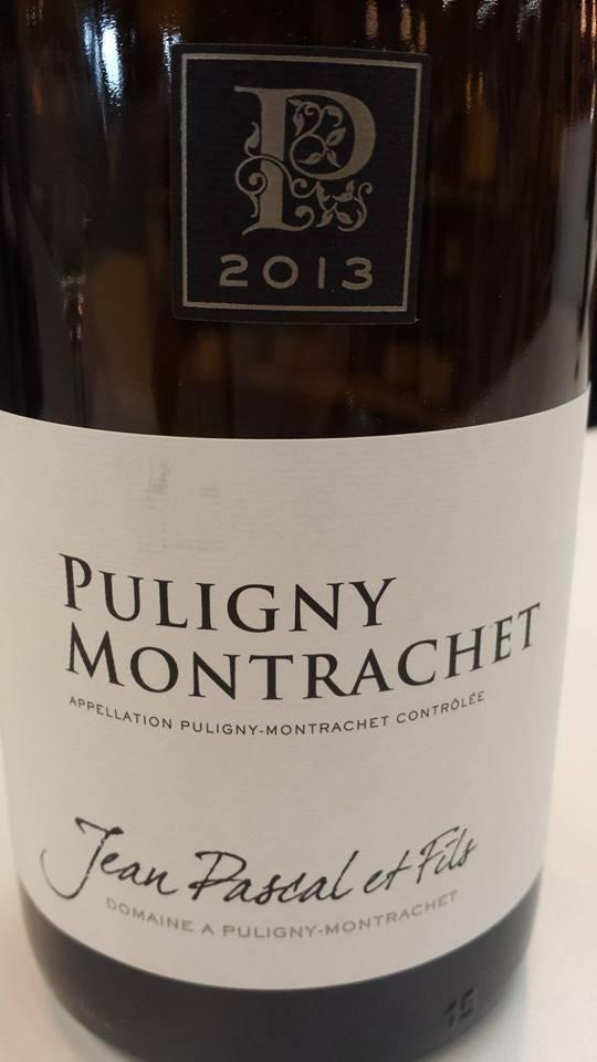 Jean Pascal et Fils 2013 – Puligny-Montrachet