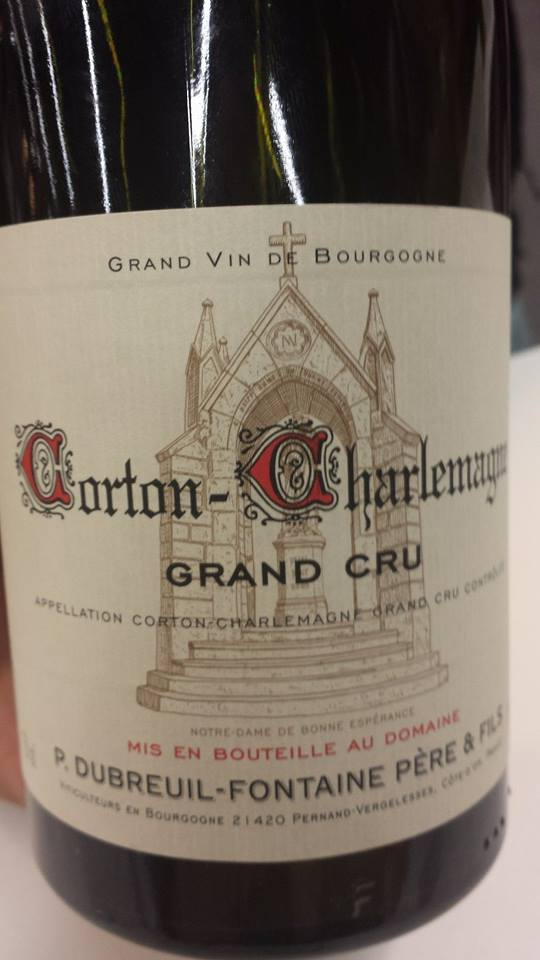 P. Dubreuil-Fontaine 2012 – Corton-Charlemagne Grand Cru
