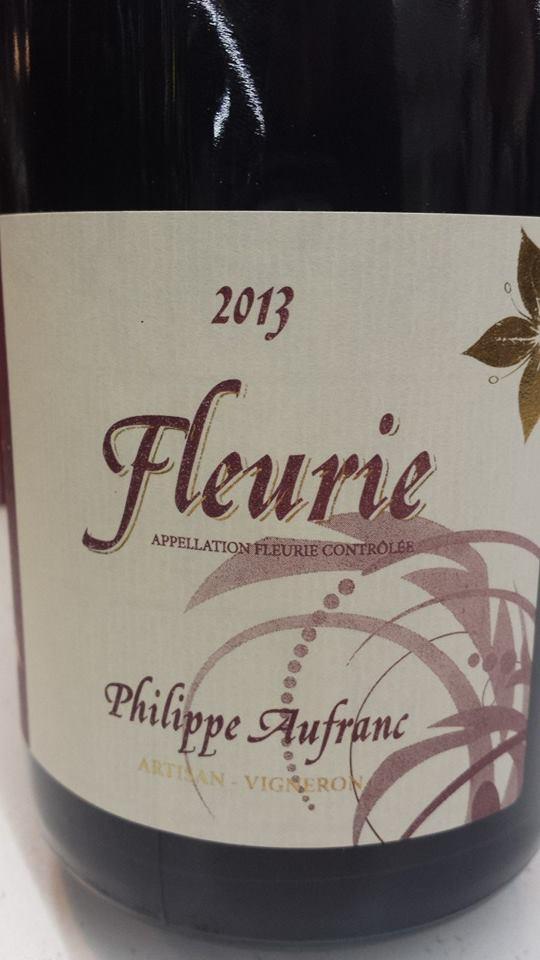 Philippe Aufranc 2013 – Fleurie