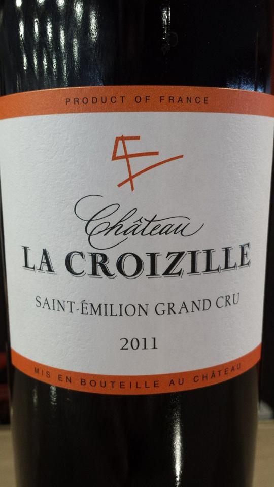 Château La Croizille 2011 – Saint-Emilion Grand Cru