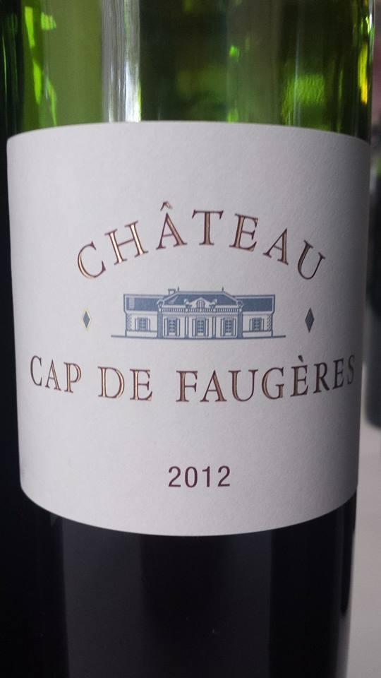 Château Cap de Faugères 2012 – Castillon Côtes-de-Bordeaux